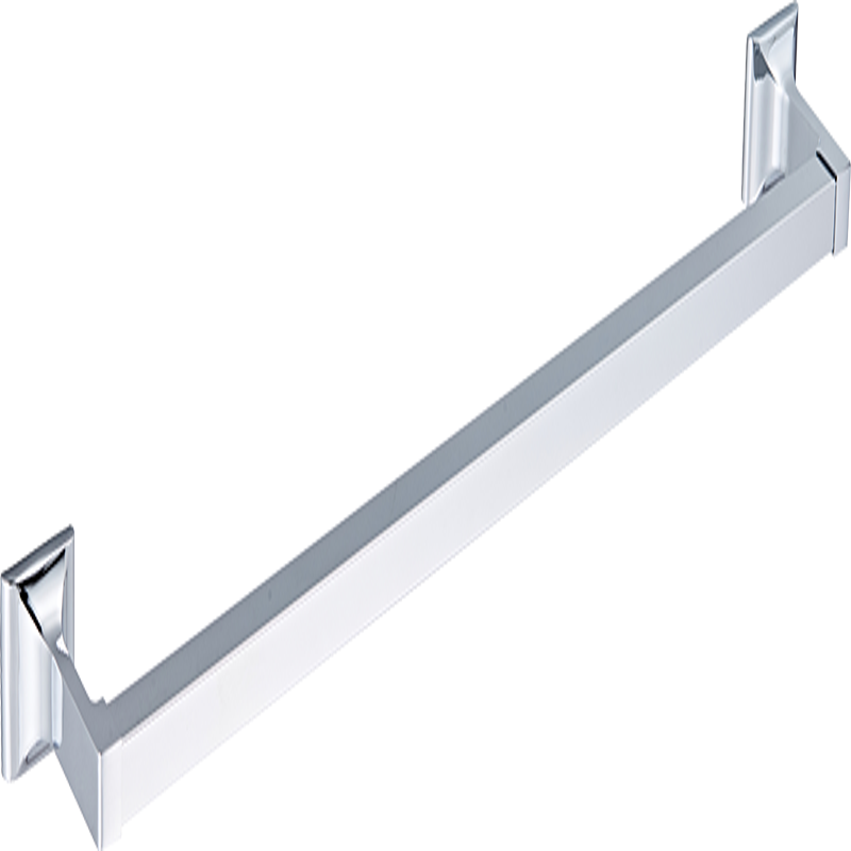 4Piece Towel Bar//Holder//Hanger//Hook Bath Hardware Accessories Set Brushed Nickel