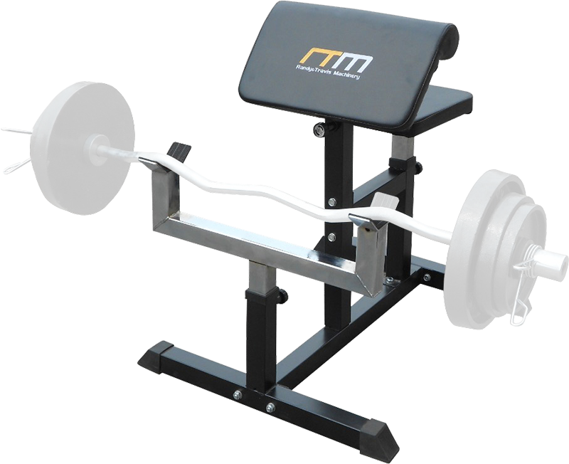 Preacher Curl Bench Weights Commercial Bicep Arms