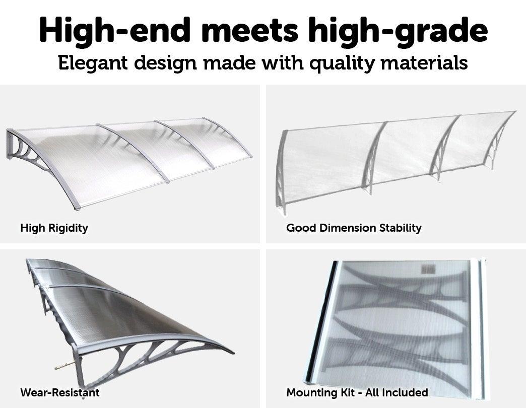 DIY Outdoor Awning Cover -1000x3000mm | Buy Door & Window ...
