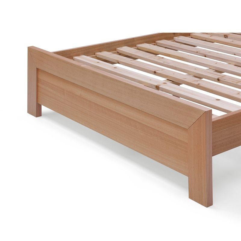 Queen Size Madison Tasmanian Oak Wooden Bed Frame Buy Queen Bed Frame 163476