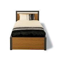Aidan Single Bed Walnut
