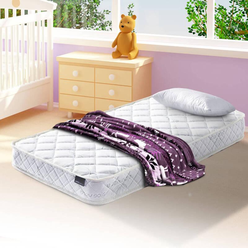 online store 7430d 8ec5f Luxo Eos Baby Pocket Spring Cot Mattress 130x69cm