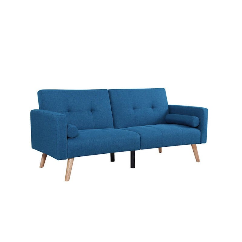 Eva 3 Seater Scandinavian Style Sofa Bed - Oxford Blue