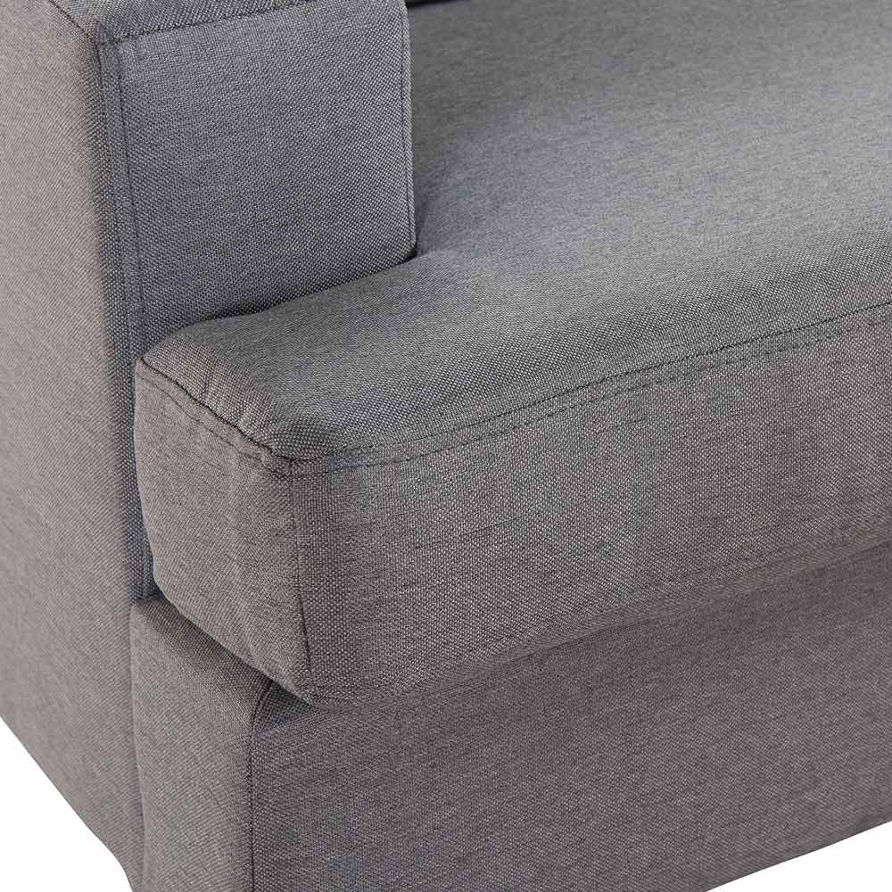 Luxo Lambeth 3 Seater Corner Chaise Sofa Grey Buy