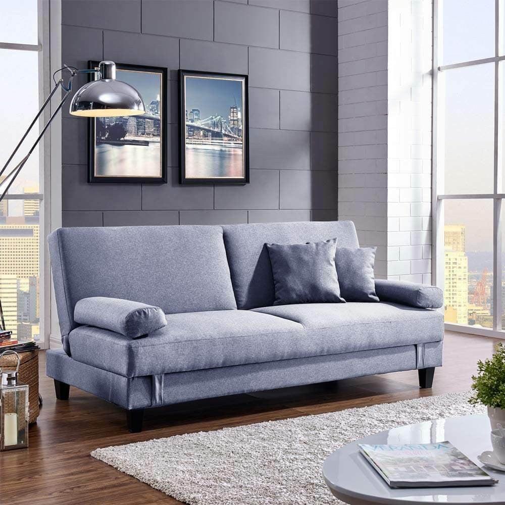 Peachy Sala 3 Seater Sofa Bed With Storage Light Grey Lamtechconsult Wood Chair Design Ideas Lamtechconsultcom