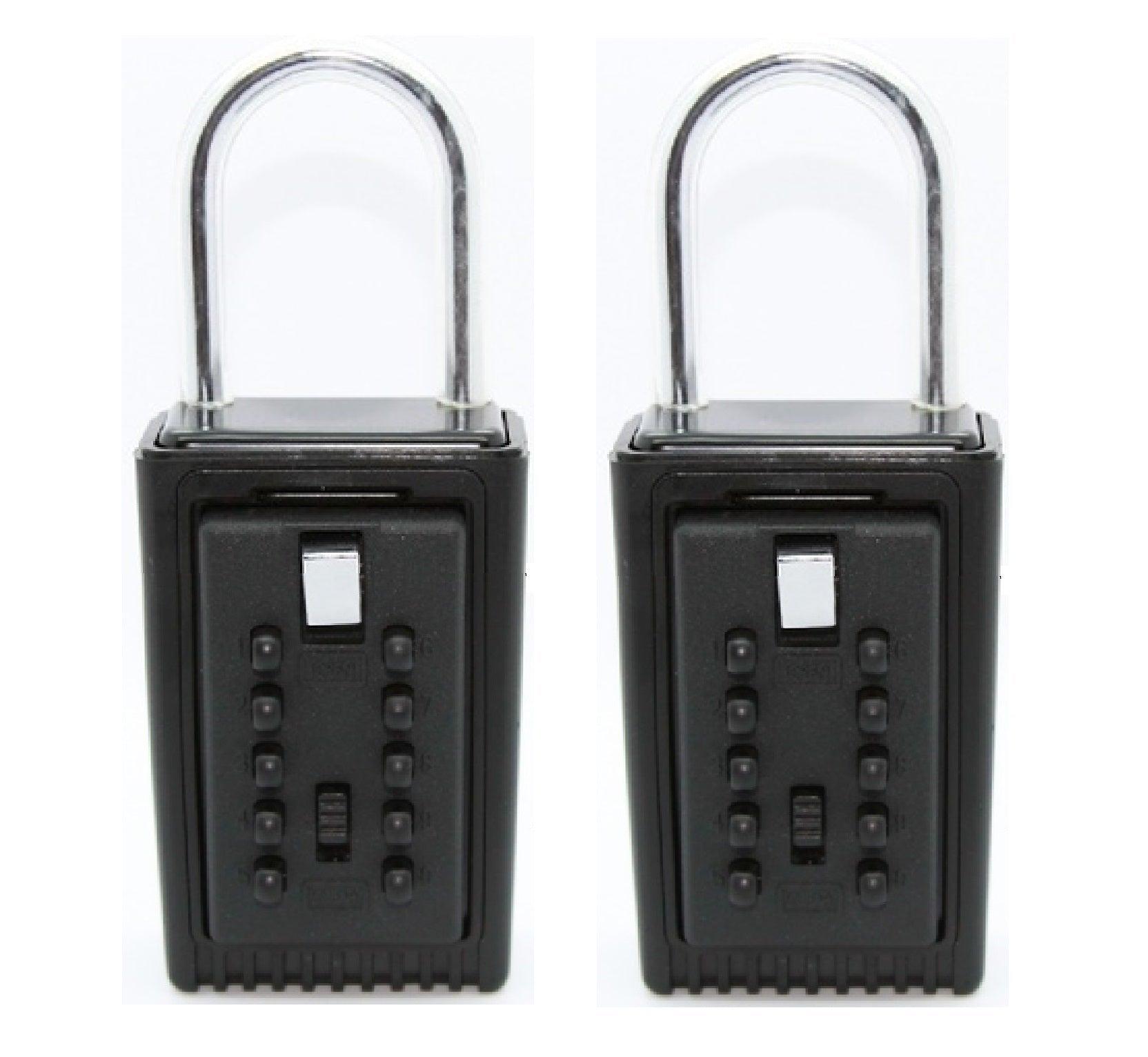 6x Yale Key Safe YFM//500//187//1 Access 4 Digit Combination Lock 4 Key Capacity