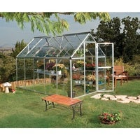 Maze Walk in Polycarbonate Greenhouse 6ft x 10ft