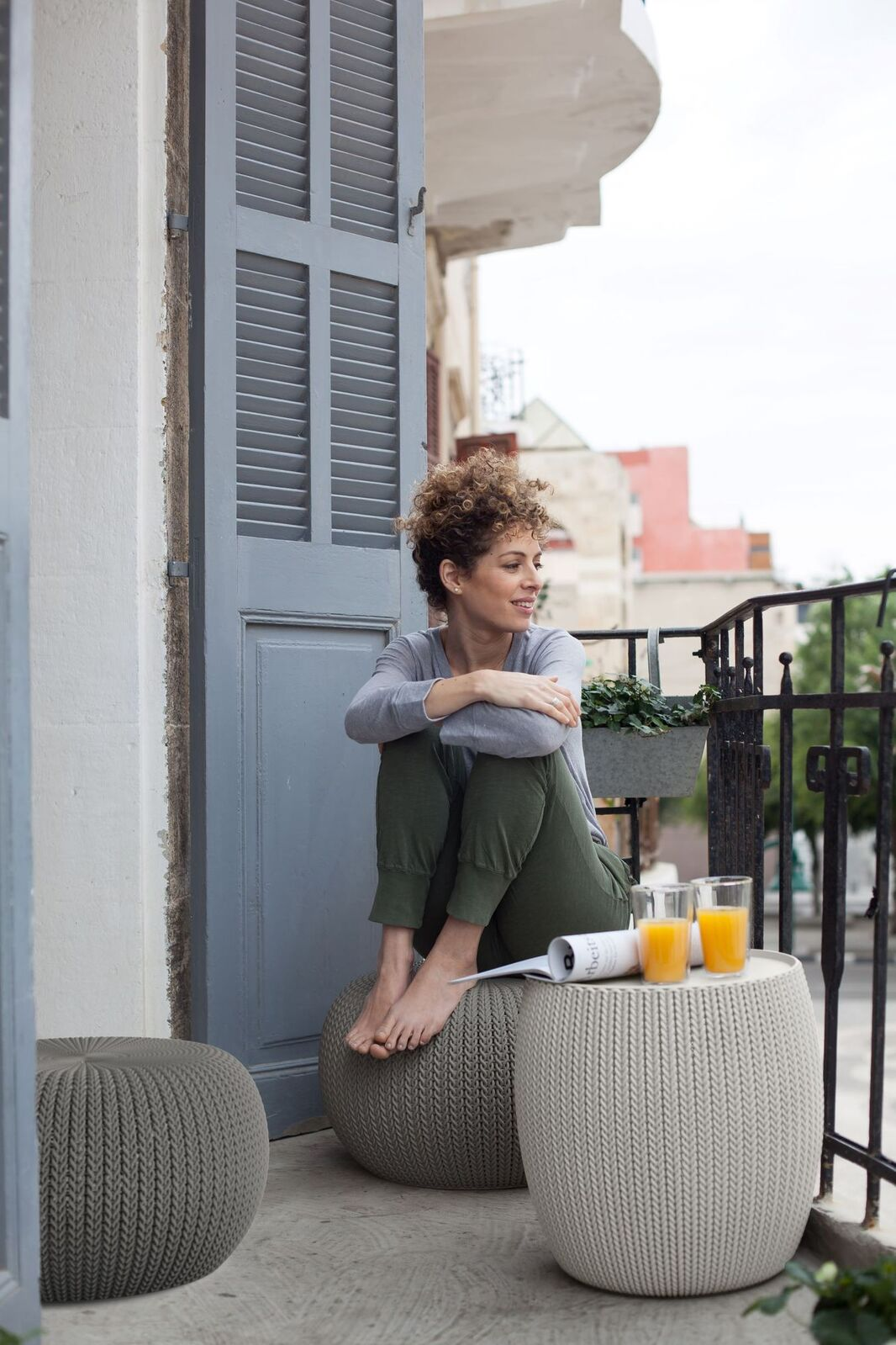 Keter Cozy Urban Furniture Balcony Set | Buy Outdoor ...