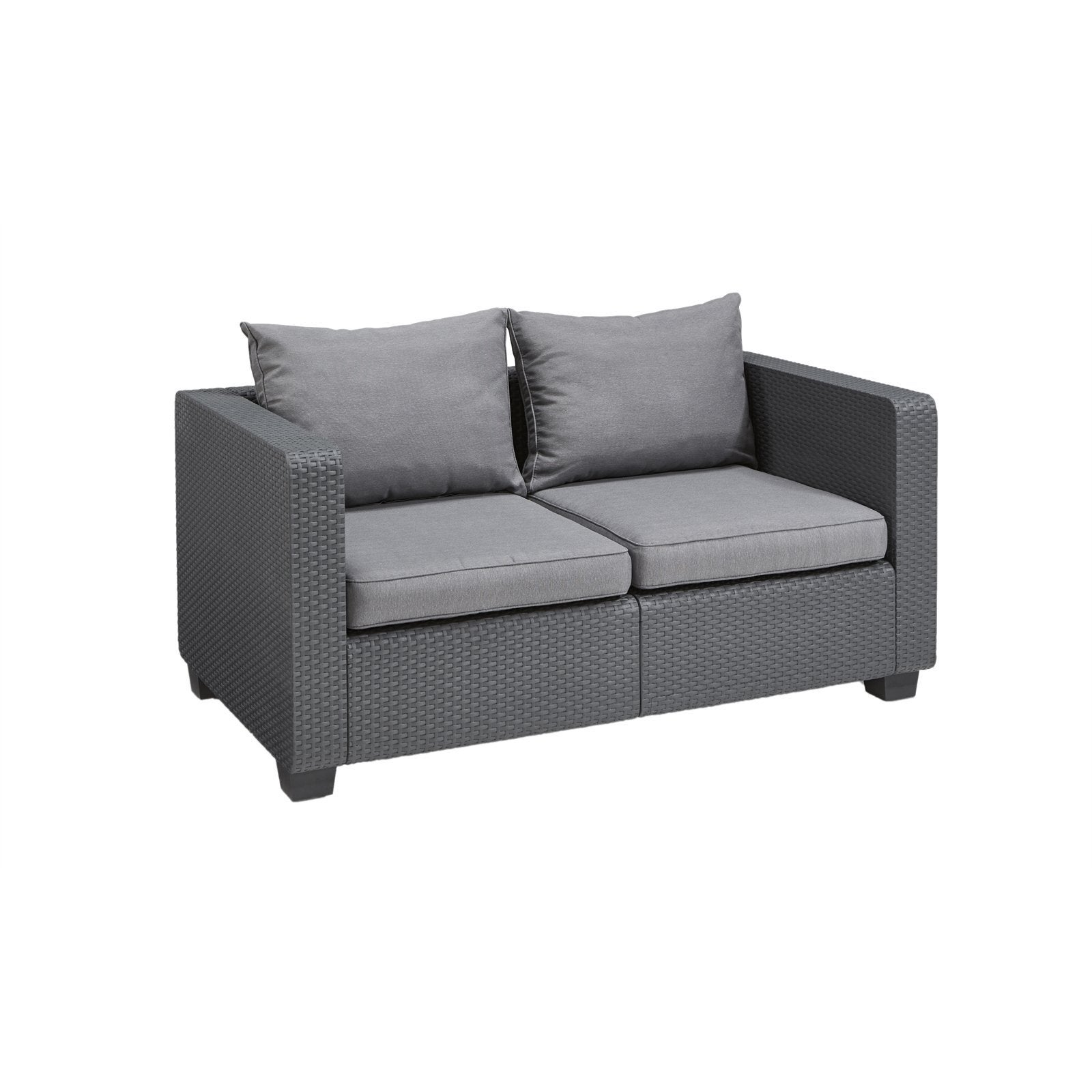 Keter Salta 2 Seater Outdoor Sofa