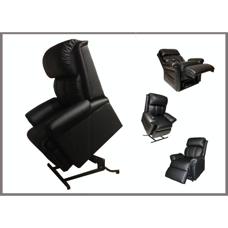 Electric Lift Chair W Massage Function In Black Buy
