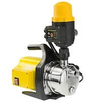 New Water Pump Weatherised Rain Tank Auto Pressure Electric Garden Yellow 800w