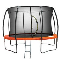 Kahuna 8ft Trampoline Spring Outdoor - Orange