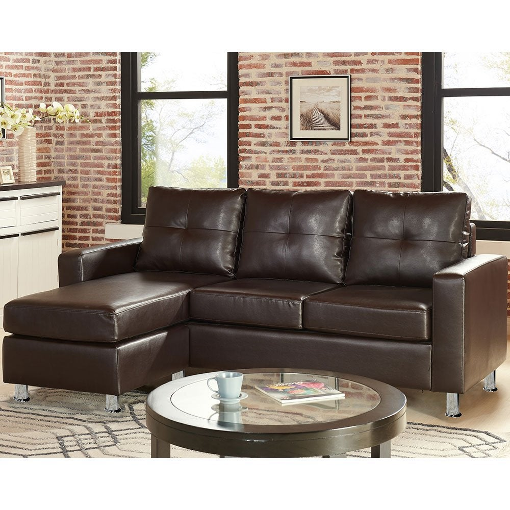 Corner Sofa Lounge Couch Modular Furniture Chair Home Faux