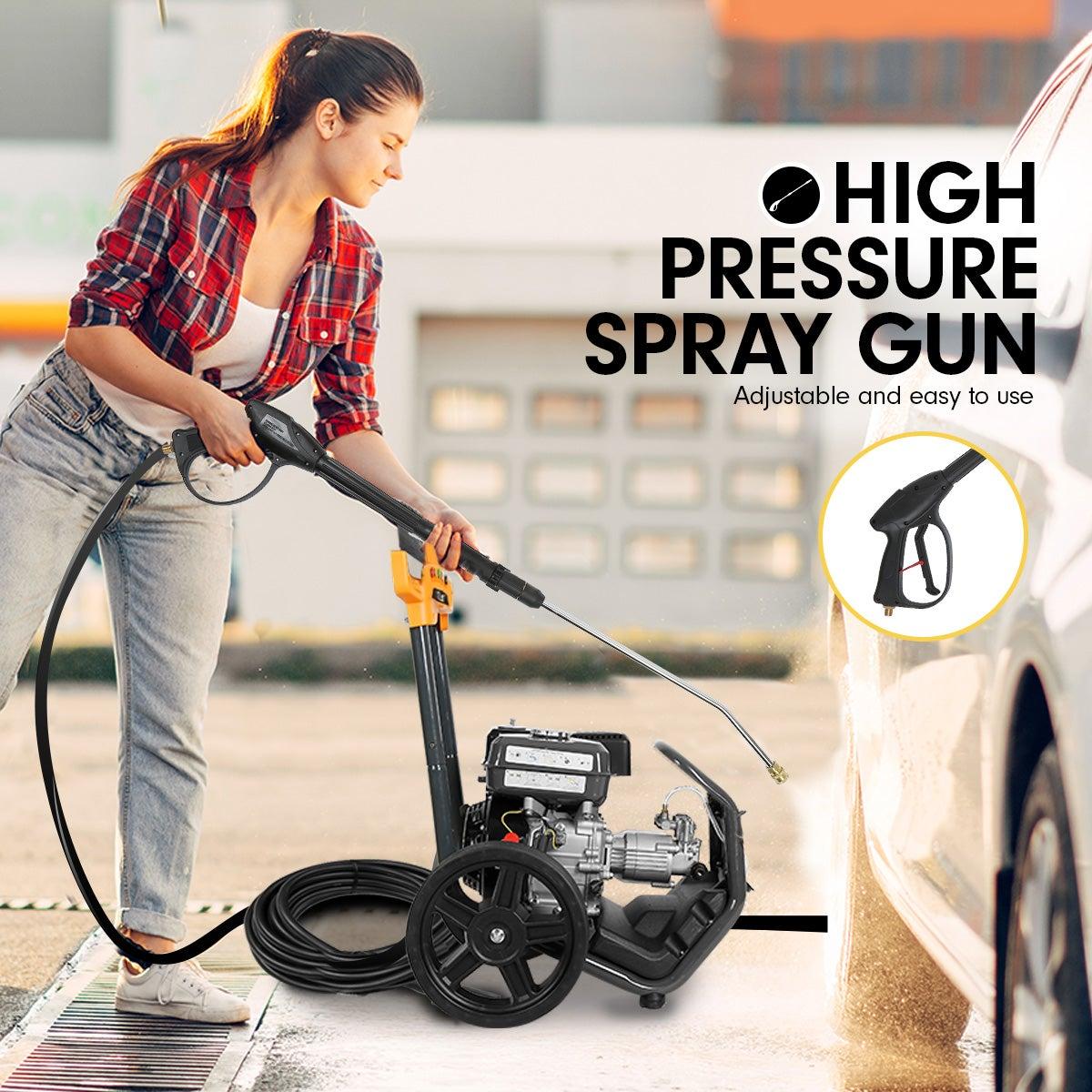 Kolner 8hp 4800psi Cleaner Petrol High Pressure Washer