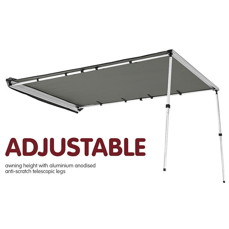 3m X 2.5m Awning Roof Top Tent Camper Trailer 4wd 4x4 ...