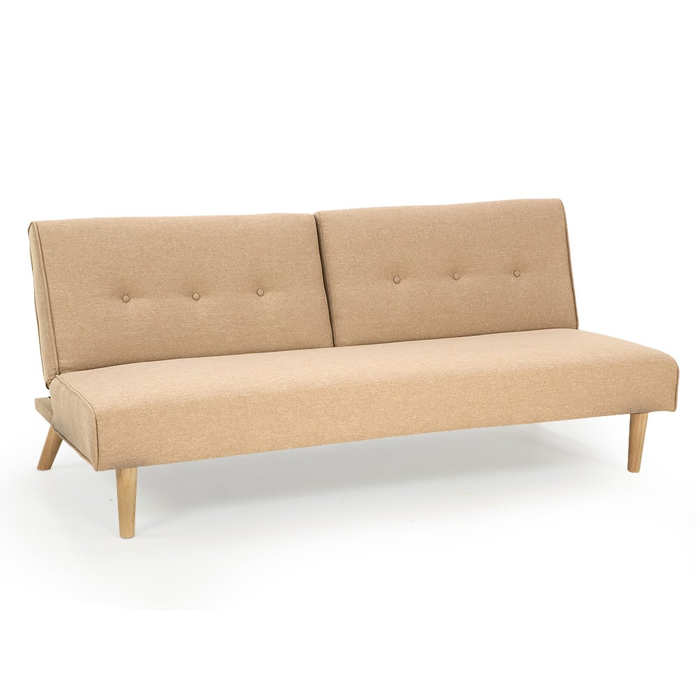 Ashton Sofa Dressed With Our Madison Ottoman And A: New Soho Linen Fabric Sofa Bed Lounge Couch Futon