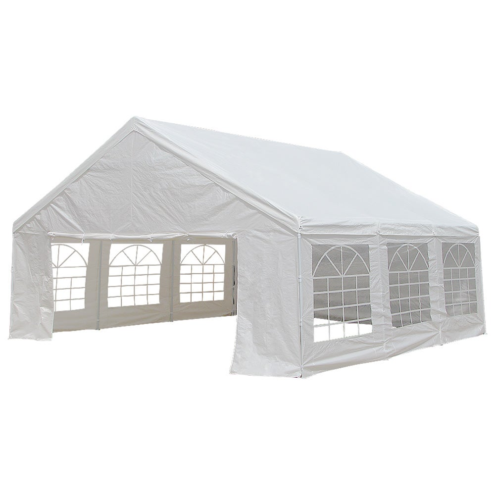 Wedding With White Tent: Wallaroo 6x6m Outdoor Event Marquee Gazebo Party Wedding