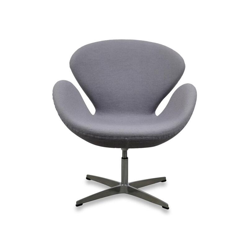 Superb Swan Lounge Chair Arne Jacobsen Replica Premium Wool Grey Ocoug Best Dining Table And Chair Ideas Images Ocougorg