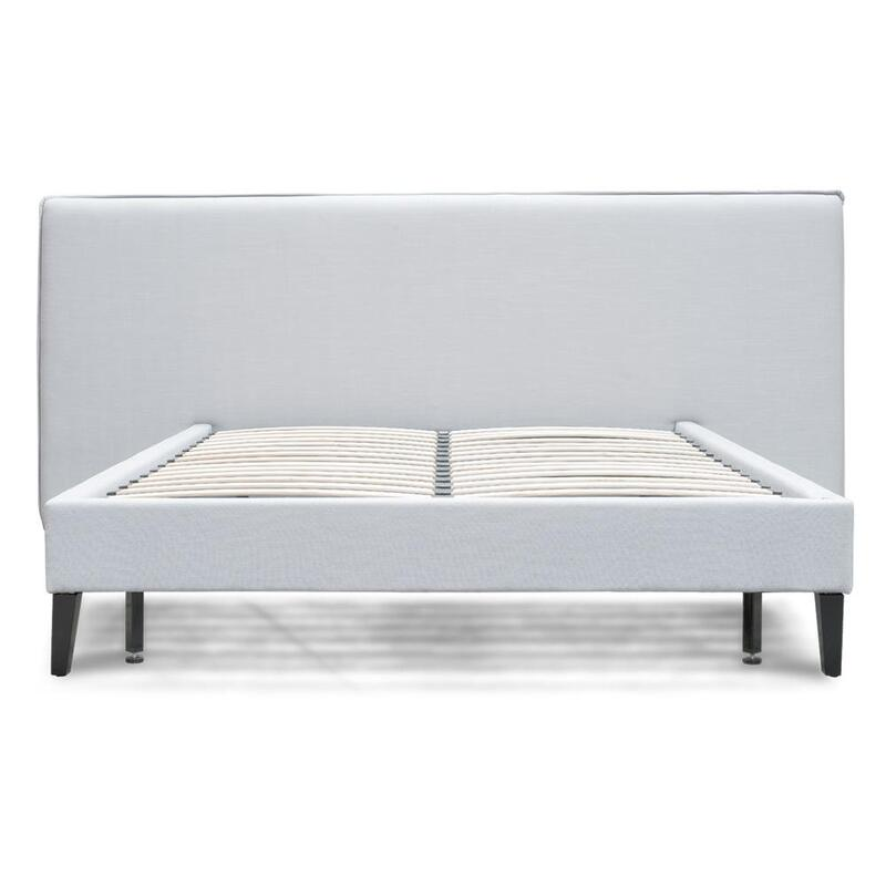 Jasper Wide King Bed Frame Cement Grey Buy King Size