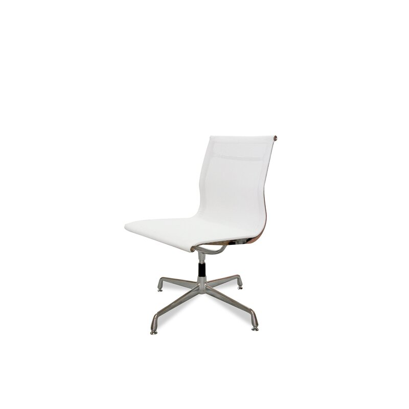 Visitor Mesh Office Chair Eames Replica White No