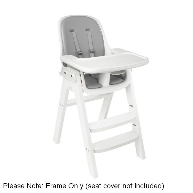 Oxo Tot Sprout Wooden High Chair Frame In White Buy High Chairs 0719812938950