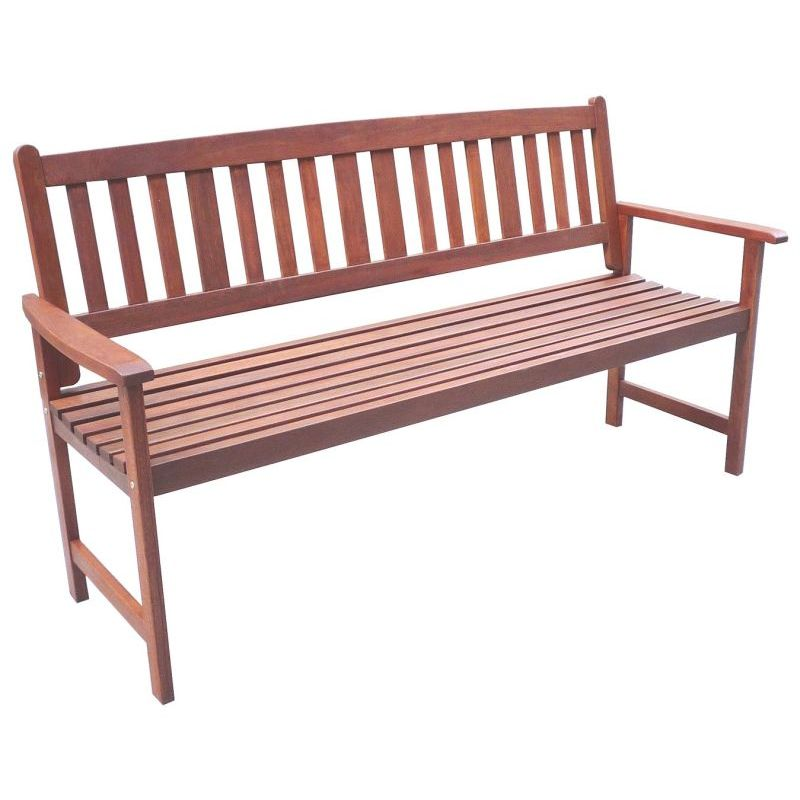 Astonishing Outdoor 3 Seater Wooden Garden Bench Seat Chair Bralicious Painted Fabric Chair Ideas Braliciousco