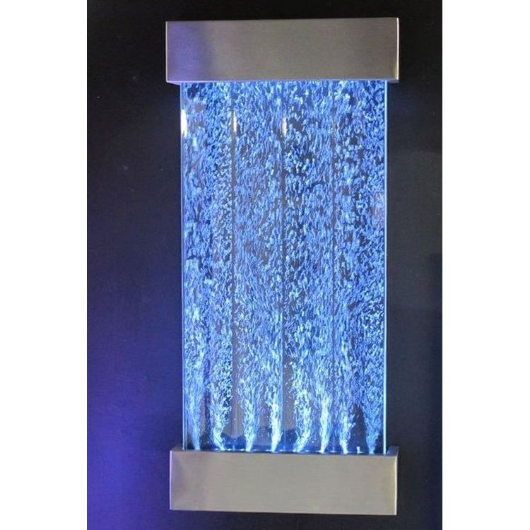 16 Colour Wall Mount Bubble Water Feature 57x122cm Buy
