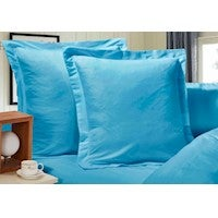 1000TC Premium Ultra Soft European Pillowcases 2-Pack - Light Blue