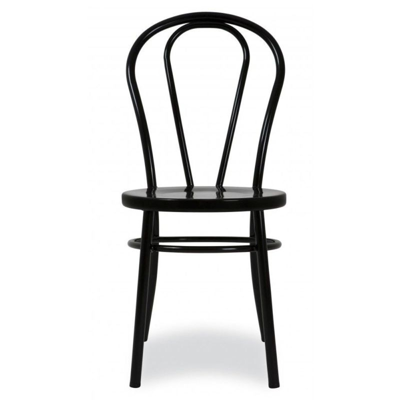 Fantastic Replica Bentwood Metal Dining Chair W Cushion Black Machost Co Dining Chair Design Ideas Machostcouk