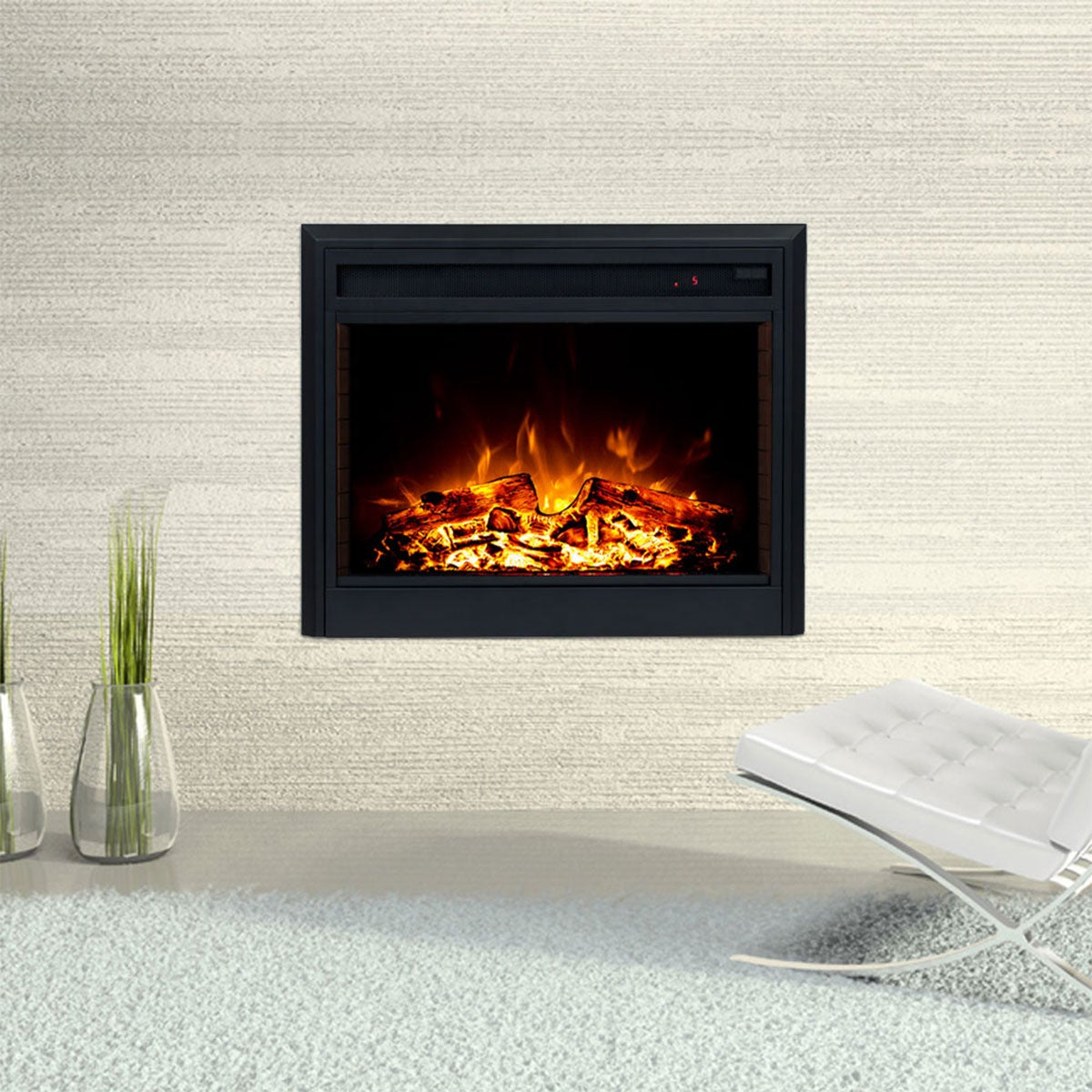 Moonlight 2000W 30 inch Electric Fireplace Insert | Buy ...