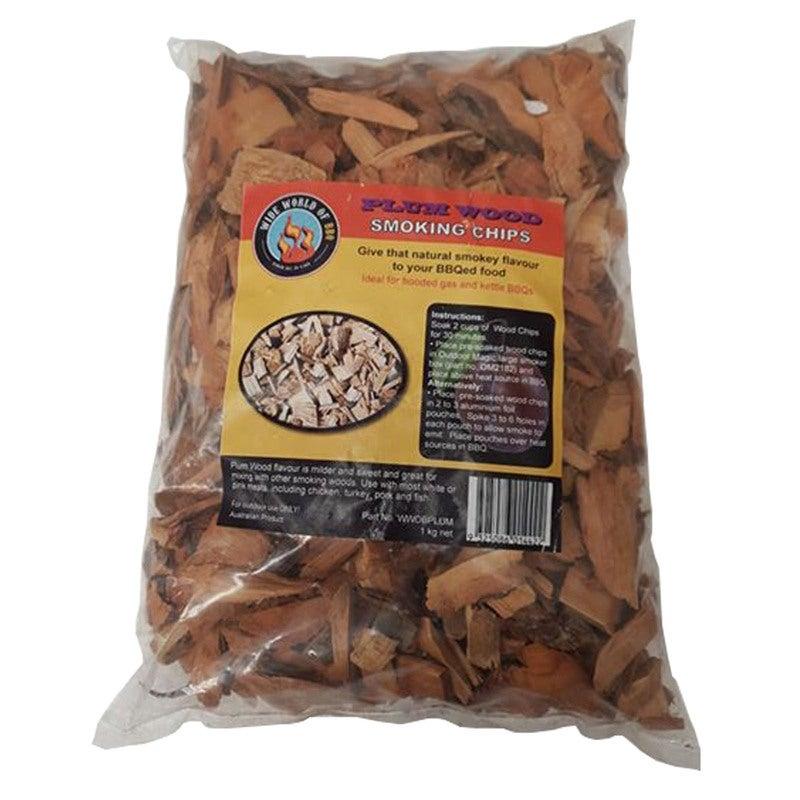 Fishing Fish Smoker Wood Chips for Cooker 500g Bag