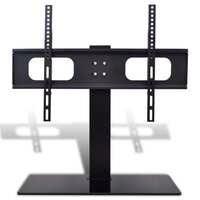 "vidaXL TV Bracket with base 600x400mm 32""-70"" Mount LCD LED PLASMA Glass Stand"