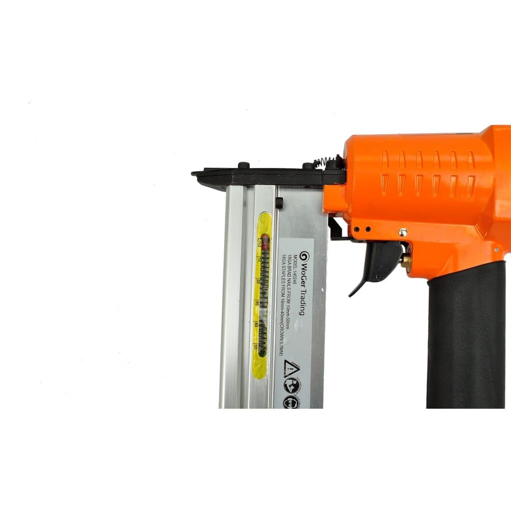 Vidaxl 2 In 1 Pneumatic Air Powered Nailer Stapler Framing