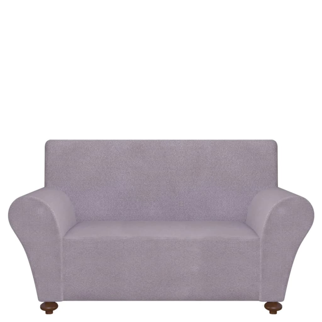 Remarkable Vidaxl Stretch Couch Slipcover Grey Polyester Jersey Sofa Cover Protector Gmtry Best Dining Table And Chair Ideas Images Gmtryco