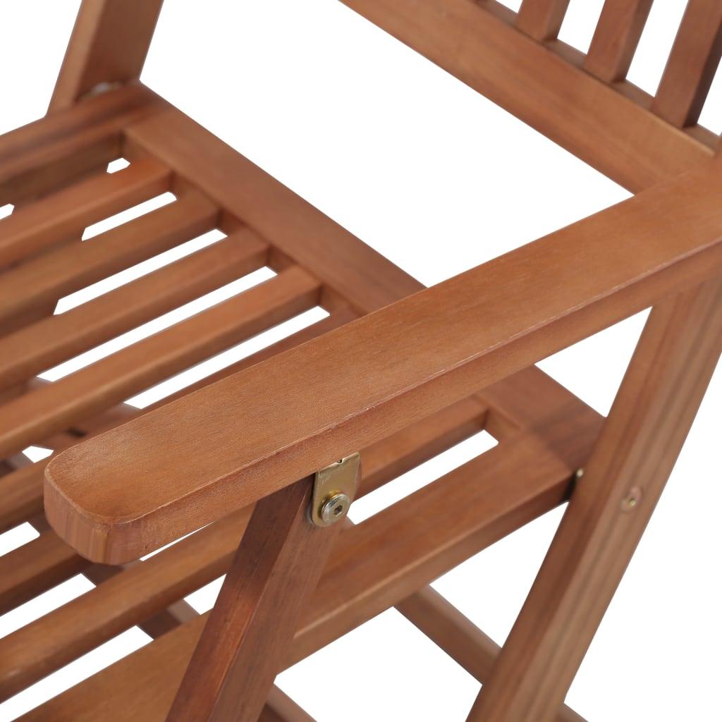 vidaXL 13 Pieces Solid Acacia Wood Outdoor Dining Set ...