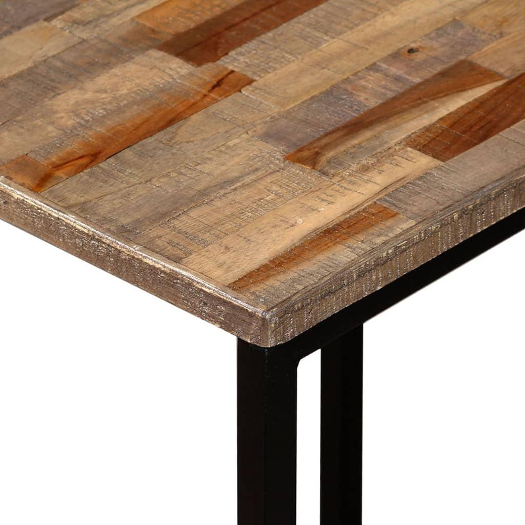 vidaXL 3 Piece Nesting Coffee Table Set Solid Reclaimed ...