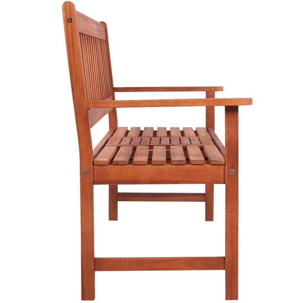 vidaXL Garden Bench Acacia Wood Outdoor Seating Furniture ...