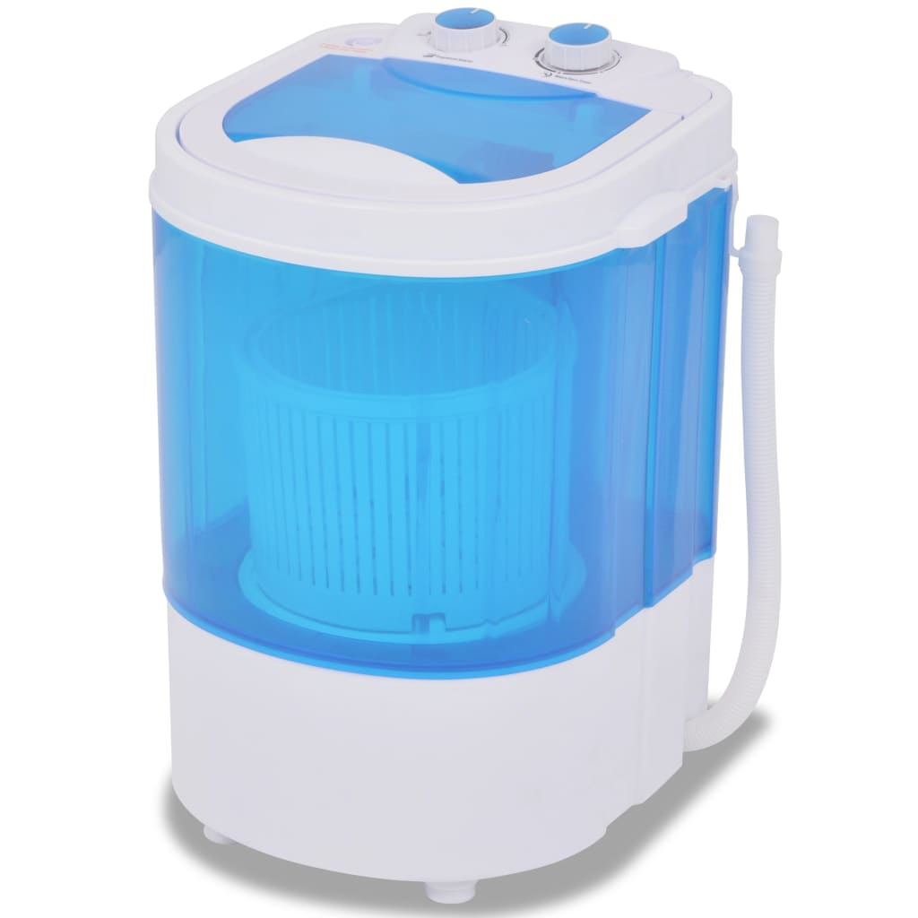 vidaXL Mini Washing Machine Single Tub 2.6kg Cloth Washer ...