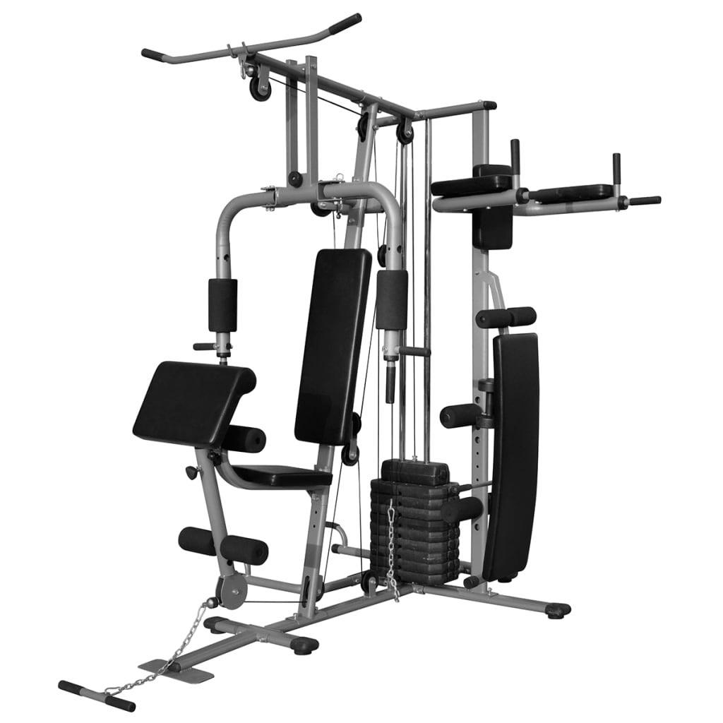 vidaXL Multi-functional Home Gym Strength Training ...
