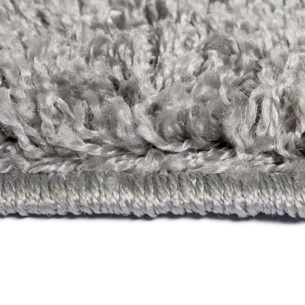 Vidaxl Shaggy Area Rug 160x230cm Grey Office Soft Fluffy