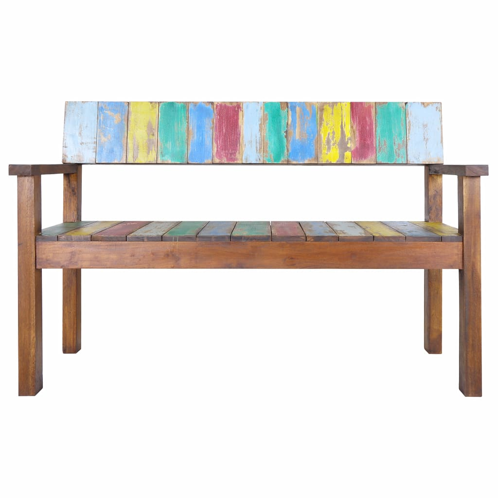 Prime Vidaxl Solid Reclaimed Boat Wood Bench Entryway Hallway Seat Chair Furniture Pabps2019 Chair Design Images Pabps2019Com