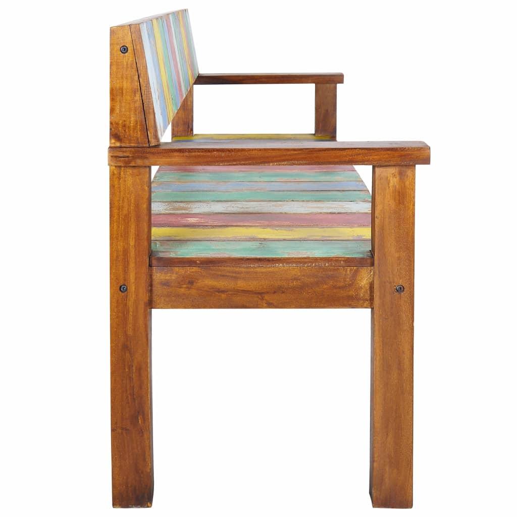 Awe Inspiring Vidaxl Solid Reclaimed Boat Wood Bench Entryway Hallway Seat Chair Furniture Spiritservingveterans Wood Chair Design Ideas Spiritservingveteransorg