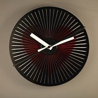 NeXtime Kinegram Moving Picture Wall Clock - Heart - 30cm