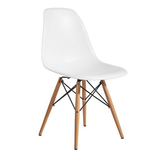 DSW Eames Kid S Chair Replica White Timber Legs