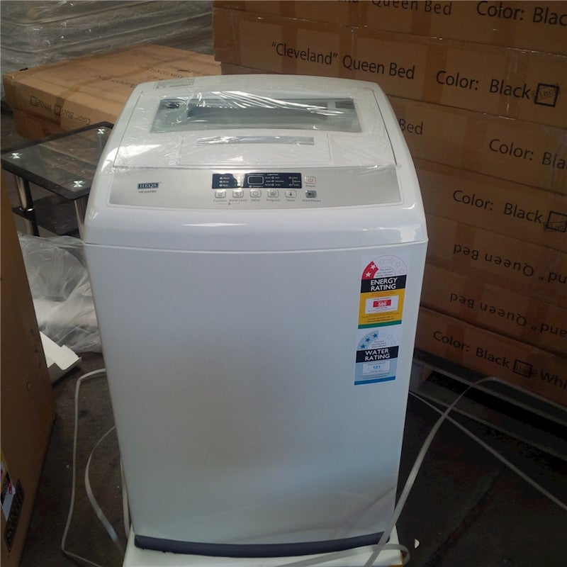 8kg Top Load Washing Machine (HEQS080) - (White), Brand ...