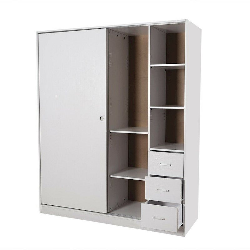 Cost Of Fitted Wardrobes: PriceWorth Redfern Builtin Modular-1600mm Sliding Wardrobe