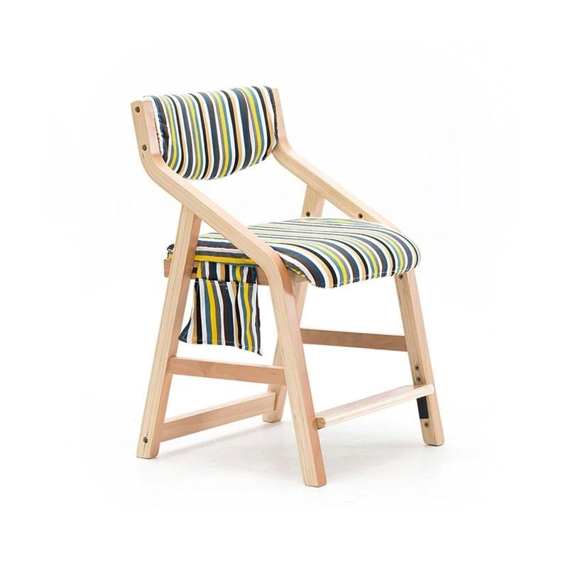 Anika Kids Height Adjustable Wooden Study Dinning Chair