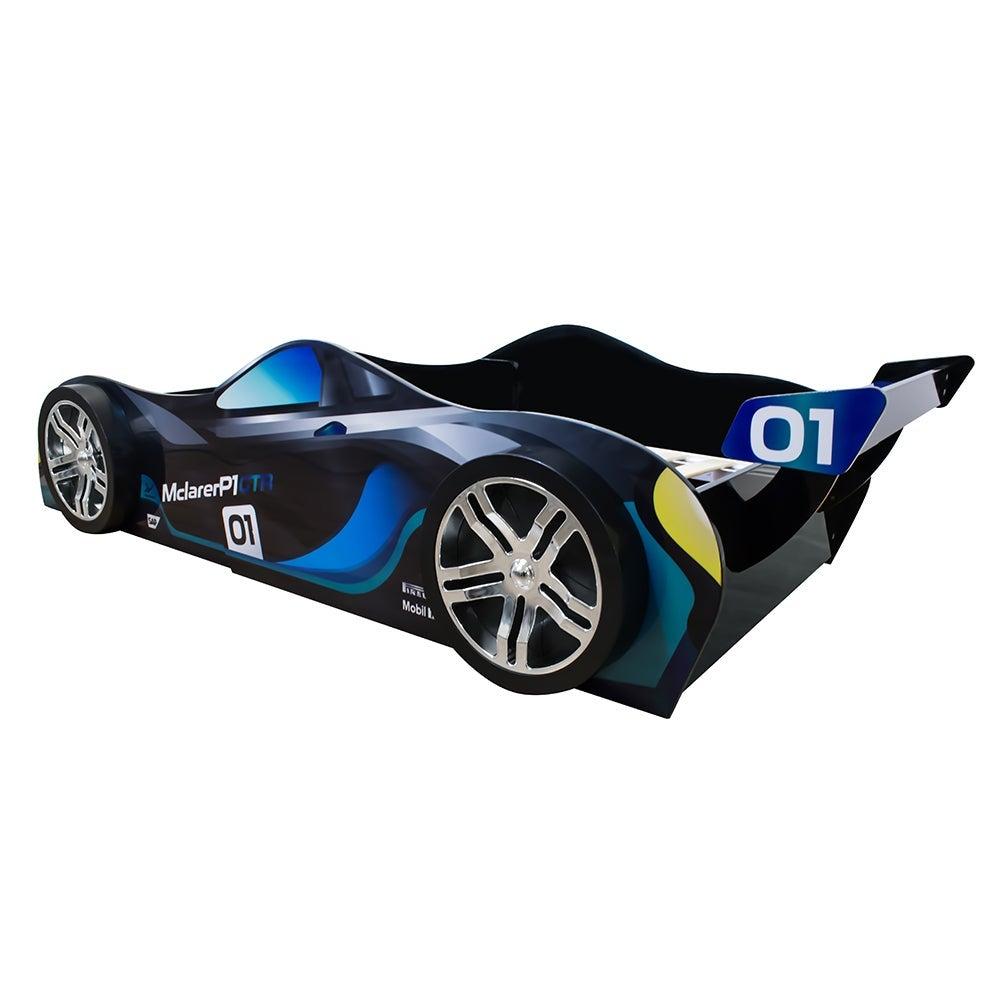 0 3 2019 Mclaren P1 Blue For Kids Racing Racer Night Car