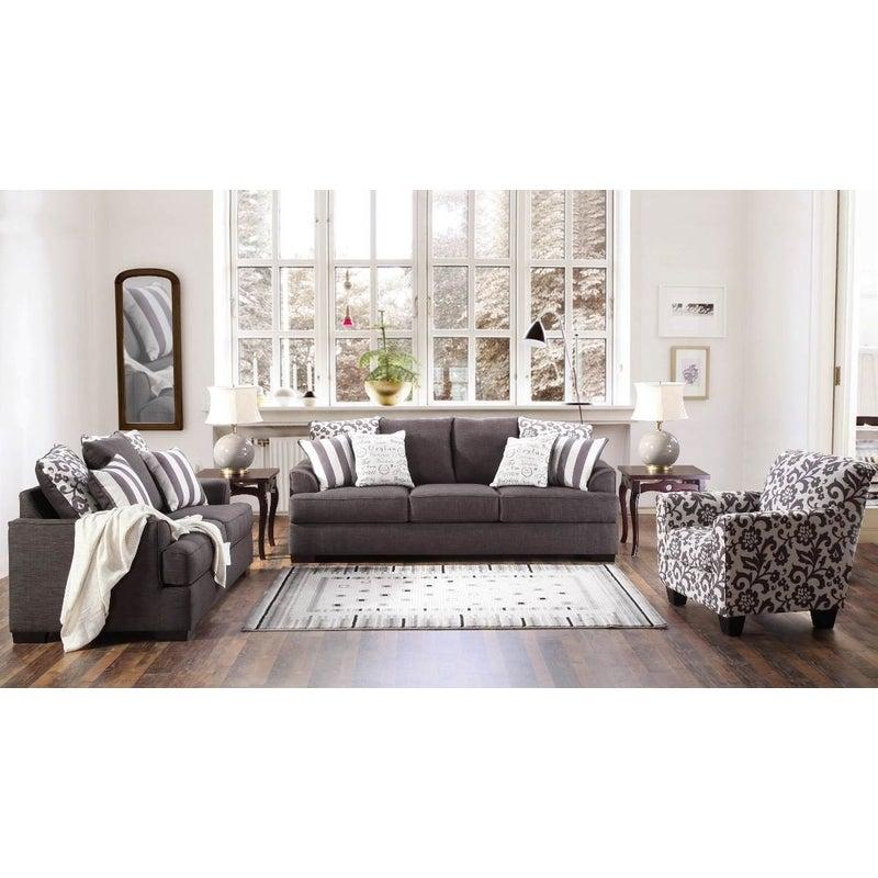 Levon 3 + 2 Seater Sofa Suite | Buy Lounge Suites & Sets ...