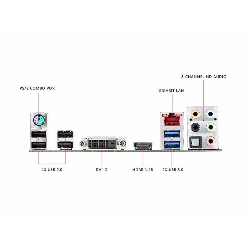 Asus ROG Strix B250H Gaming ATX Motherboard LGA1151 DDR4 M